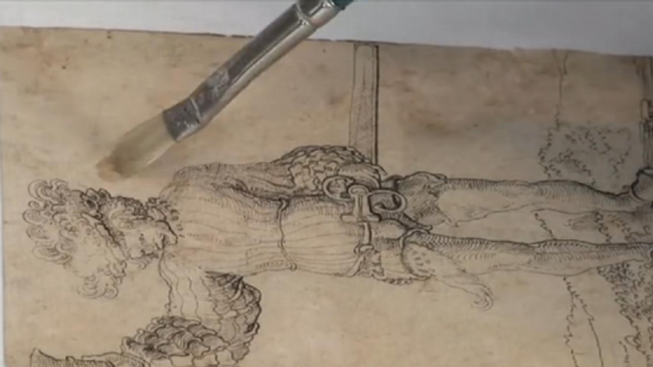 papierrestauratie, boekrestauratie, boekenrestauratie, restauratie gravure